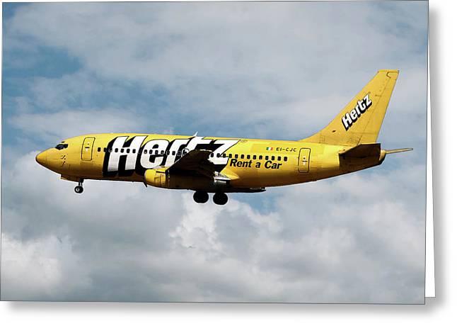 Boeing 737-204 Ryanair Greeting Card
