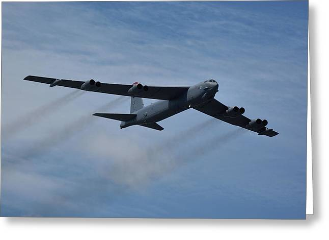 Boeing B-52h Stratofortress Greeting Card