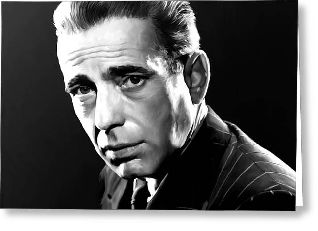 Bogart Greeting Card