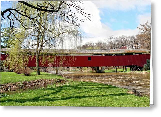 Bogert Covered Bridge Greeting Card