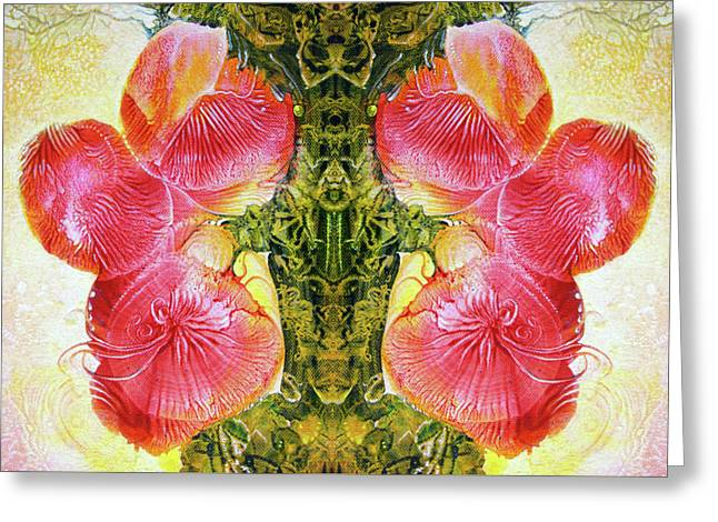 Bogomil Anniversary Flower - Digital Greeting Card by Otto Rapp