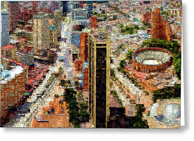 Bogota Colombia Greeting Card