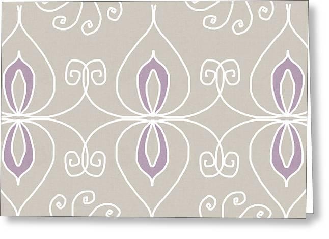 Boho Ornamental 4- Art By Linda Woods Greeting Card