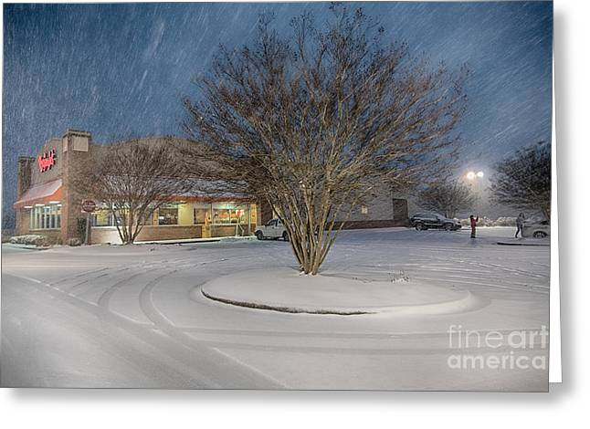 Bojangles Blizzard Greeting Card