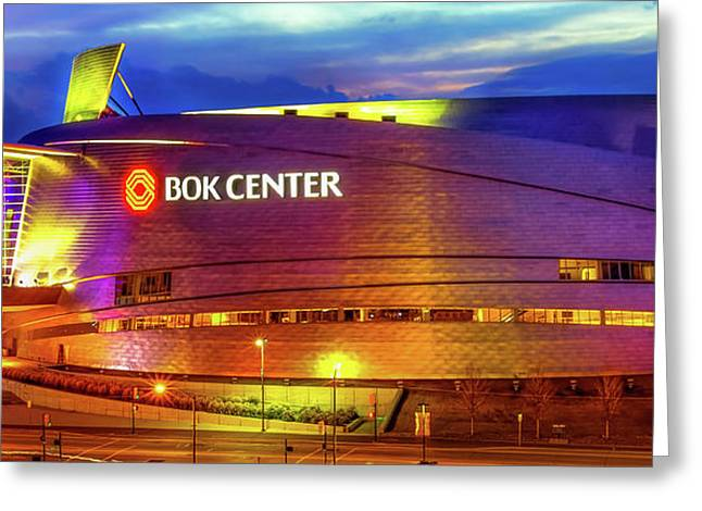 Bok Center - Tulsa Oklahoma Downtown Greeting Card