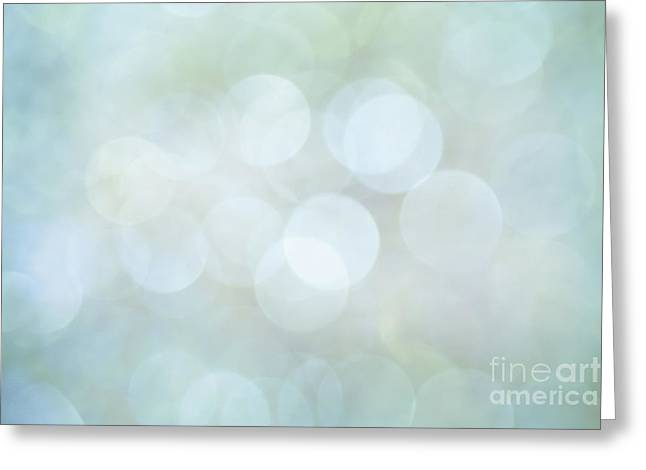 Greeting Card featuring the photograph Bokeh Clouds by Jan Bickerton