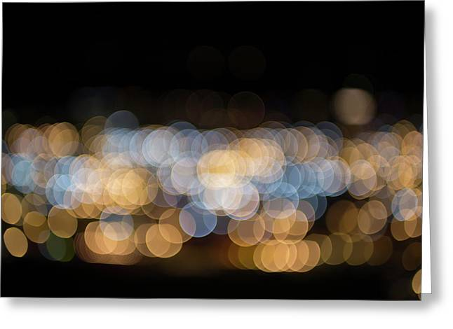 Greeting Card featuring the photograph Bokeh  by Jingjits Photography