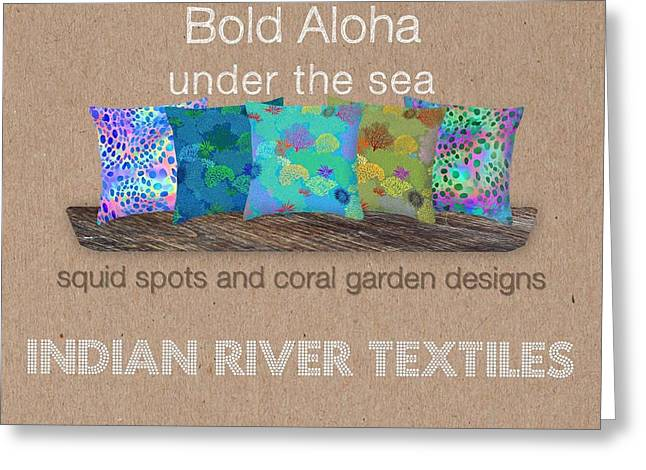 Bold Aloha Under The Sea Collection Greeting Card