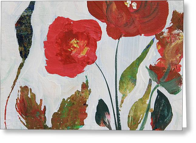 Bold Blooms Greeting Card