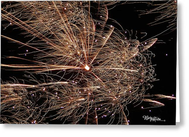 Greeting Card featuring the photograph Bold Burst #0711 by Barbara Tristan