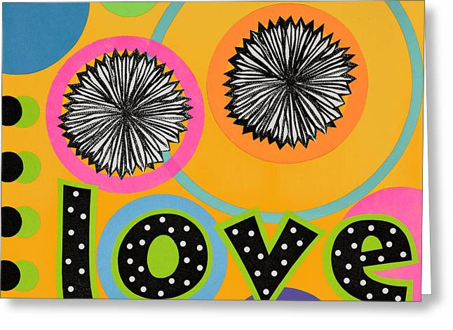 Bold Love Greeting Card