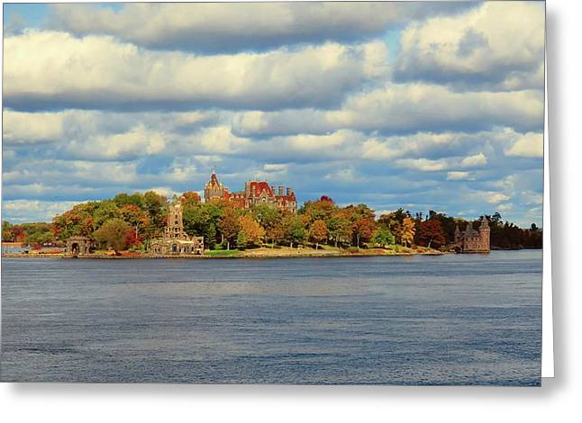 Boldt Castle Greeting Card