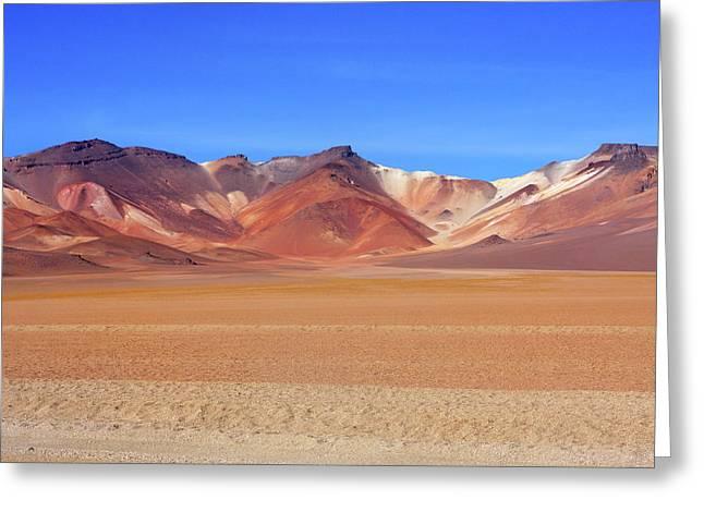 Bolivian Altiplano  Greeting Card by Aidan Moran