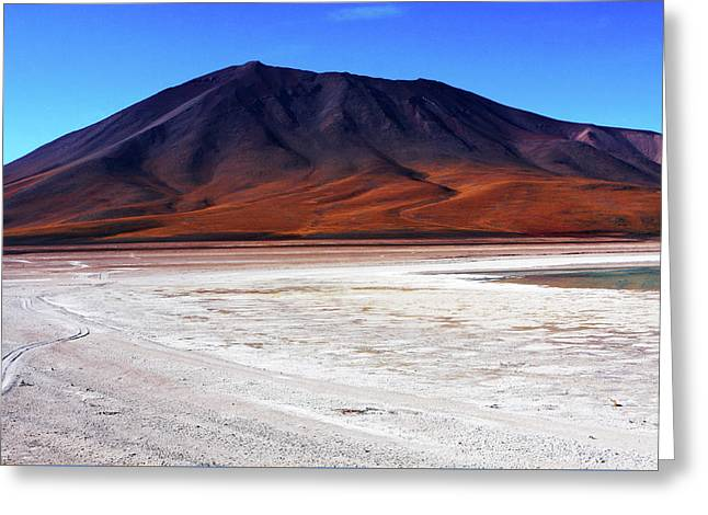 Greeting Card featuring the photograph Bolivian Altiplano, South America by Aidan Moran