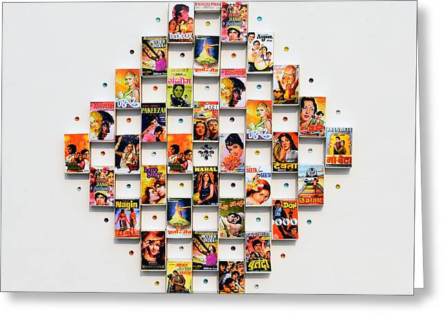 Bollywood On A Mathbox 2 Greeting Card