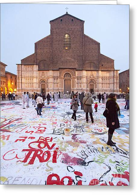 Bologna Cathedral Greeting Card