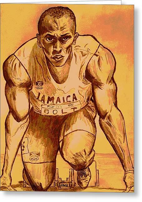 Bolt Greeting Card