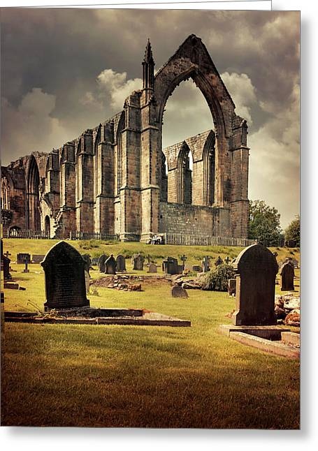 Bolton Abbey In The Uk Greeting Card by Jaroslaw Blaminsky