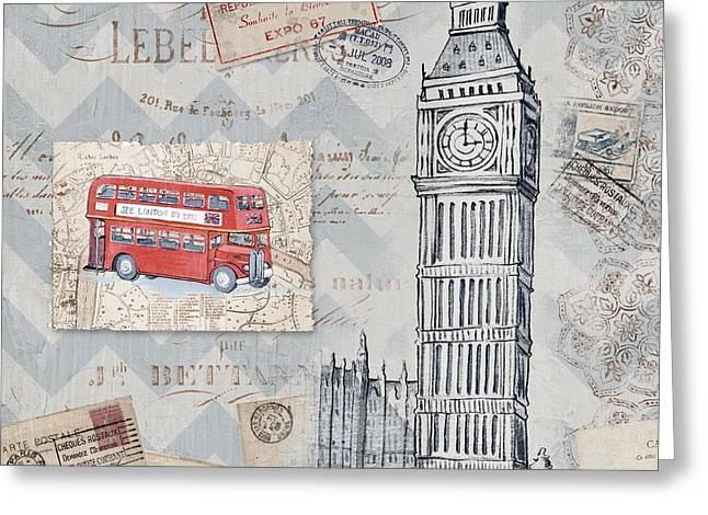 Bon Voyage Iv Greeting Card by Paul Brent