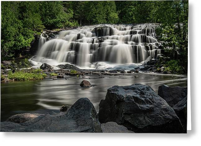 Bond Falls IIi Greeting Card