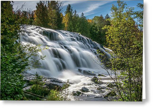Bond Falls Greeting Card