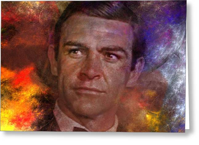Bond - James Bond - Square Version Greeting Card