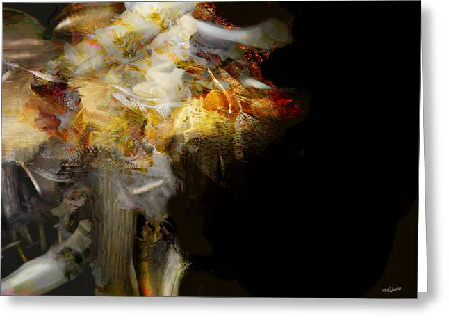 Bones Of The Shaman 3 Greeting Card by James VerDoorn