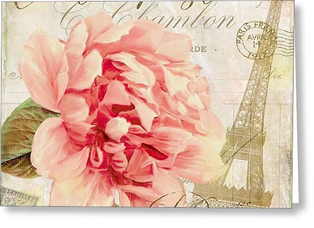 Bonjour II Greeting Card