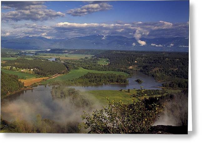Bonners Ferry Greeting Card by Leland D Howard
