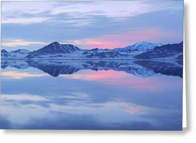 Bonneville Lake Greeting Card by Chad Dutson
