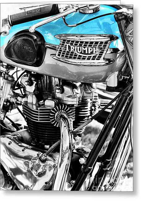 Bonneville Greeting Card by Tim Gainey