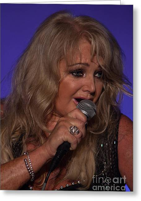 Bonnie Tyler #11 Greeting Card by Colin Hunt