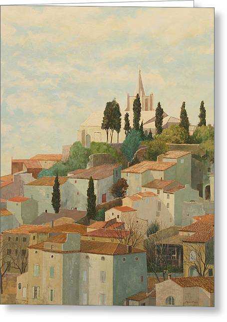 Bonnieux Vaucluse Greeting Card
