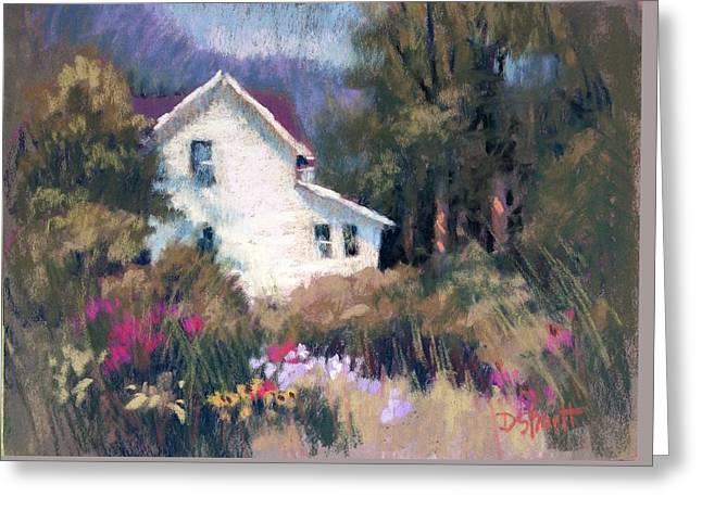 Bonny Garden Greeting Card by Donna Shortt
