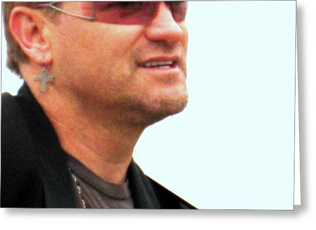 Bono 3 Greeting Card