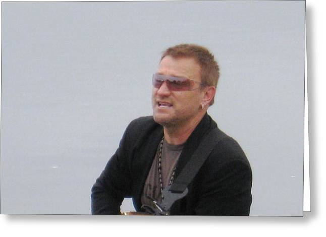 Bono 7 Greeting Card