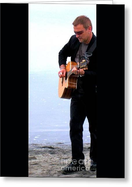 Bono 9 Greeting Card