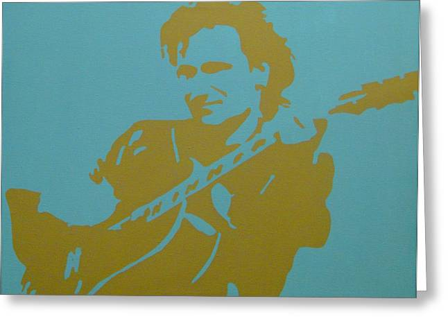 Bono Greeting Card by Doran Connell