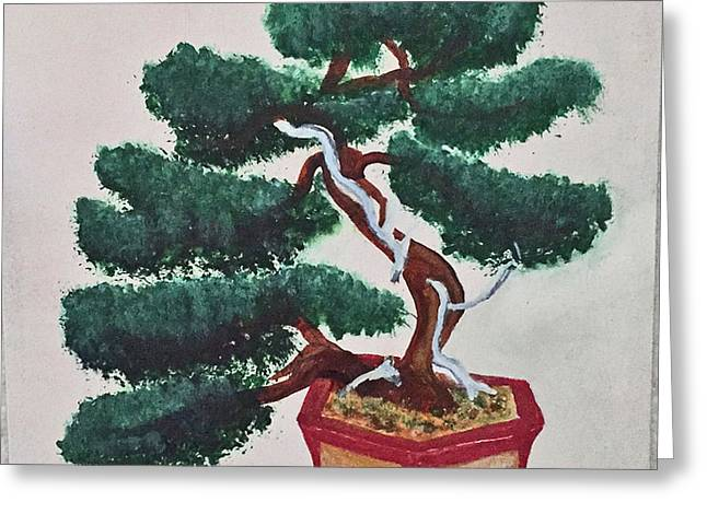 Bonsai #3 Greeting Card