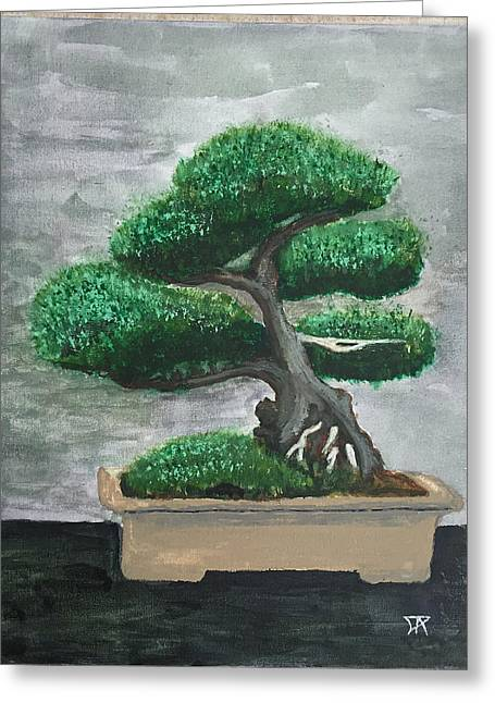 Bonsai #2 Greeting Card