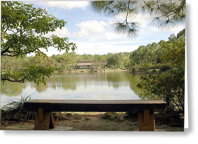 Bonsai Lake Greeting Card