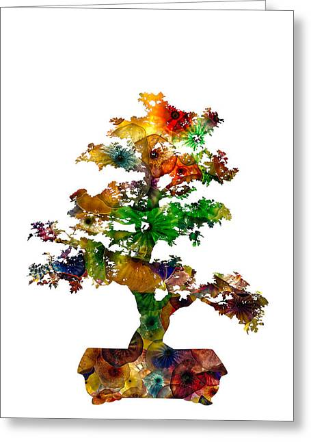 Greeting Card featuring the photograph Bonsai by Michael Colgate