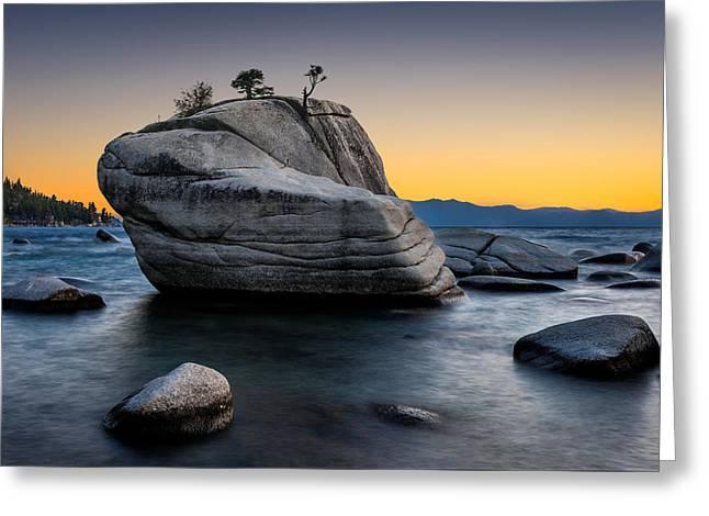 Bonsai Rock Greeting Card by Doug Oglesby