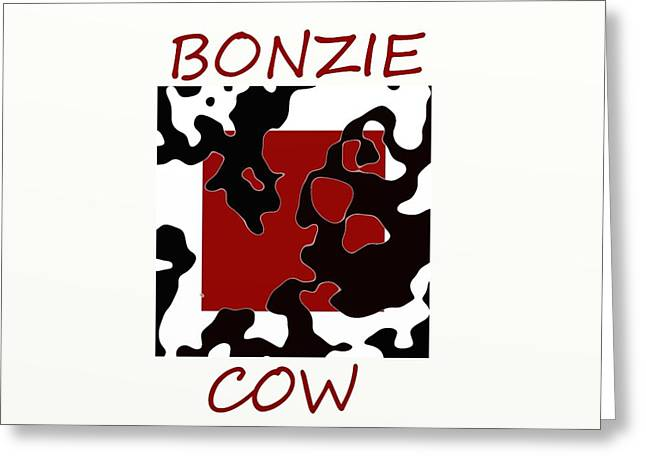 Bonzie Cow Greeting Card