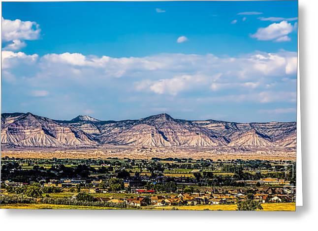 Book Cliffs Greeting Card by Jon Burch Photography