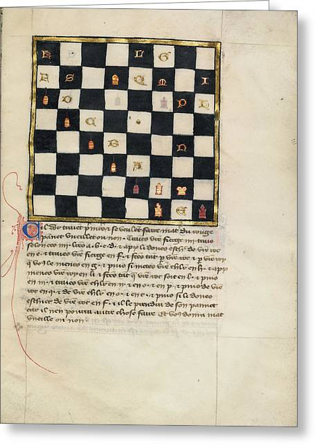 Book Of Chess Problems Greeting Card by Celestial Images