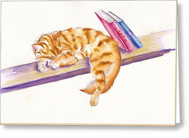 Bookend Greeting Card