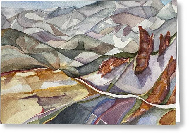 Bookends - Alta/snowbird Utah Greeting Card