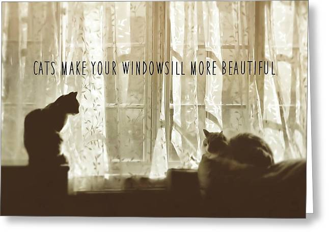 Bookends Quote Greeting Card by JAMART Photography