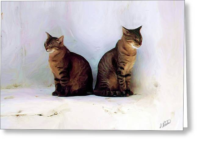 Bookends - Rdw250805 Greeting Card